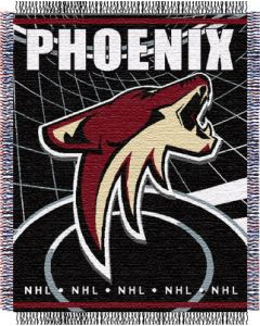 """The Northwest Company Coyotes 48""""x 60"""" Triple Woven Jacquard Throw (NHL) - Coyotes 48""""x 60"""" Triple Woven Jacquard Throw (NHL)"""
