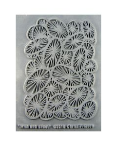 "Great Create NEW! Christi Friesen Texture Stamp 4.25""X5.5""-Twist & Shout"