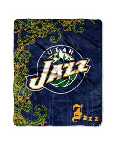 The Northwest Company Jazz 50x60 Micro Raschel Throw (NBA) - Jazz 50x60 Micro Raschel Throw (NBA)