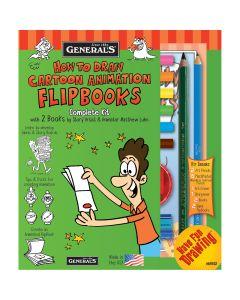 General Pencil How To Draw Cartoon Flip Books! Kit-