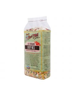 Bob's Red Mill 13 Bean Soup Mix - 29 oz - Case of 4