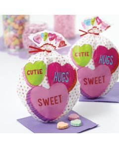 Wilton Shaped Party Bags 15/Pkg-Words Can Express