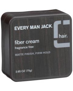 Every Man Jack Fiber Cream - Matte Finish - Firm Hold - Fragrance Free - 2.65 oz