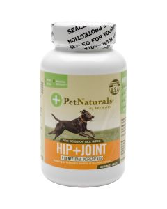 Pet Naturals of Vermont Hip + Joint Tablets For Dogs 60/Pkg- - Hip + Joint Tablets For Dogs 60/Pkg-