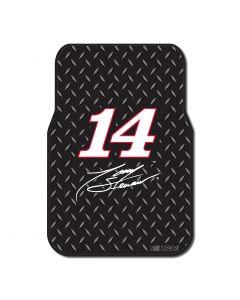 The Northwest Company Tony Stewart Car Floor Mat (Set of 2) (NASCAR) - Tony Stewart Car Floor Mat (Set of 2) (NASCAR)