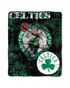 The Northwest Company Celtics  50x60 Raschel Throw - Dropdown Series