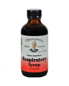 Dr. Christopher's Formulas Dr. Christopher's Respiratory Syrup - 4 fl oz