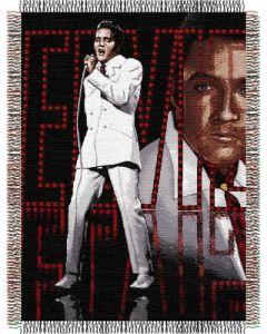 "The Northwest Company Elvis 68 48""x60"" Tapestry Throw"