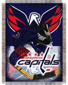 "The Northwest Company Capitals  ""Home Ice Advantage"" 48x60 Tapestry Throw"