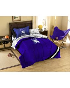 The Northwest Company Northwestern Twin Bed in a Bag Set (College) - Northwestern Twin Bed in a Bag Set (College)