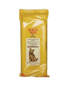 Fetch For Pets Burt's Bees Cat Wipes 50/Pkg-Dander Reducing