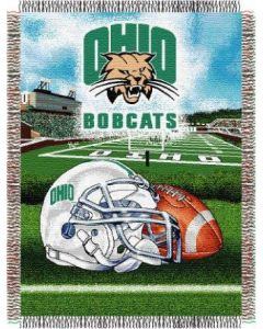 "The Northwest Company Ohio University  ""Home Field Advantage"" 48""x 60"" Tapestry Throw (College) - Ohio University  ""Home Field Advantage"" 48""x 60"" Tapestry Throw (College)"