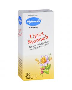 Hyland's Hylands Homeopathic Upset Stomach - 100 Tablets
