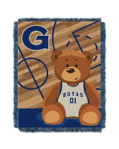 The Northwest Company Georgetown  College Baby 36x46 Triple Woven Jacquard Throw - Fullback Series