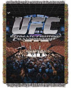 "The Northwest Company UFC- Cage Fight Logo 48""x60"" Tapestry Throw"