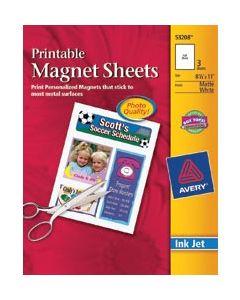 "Avery Dennison Printable Magnet Sheets-8.5""X11"" 3/Pkg"