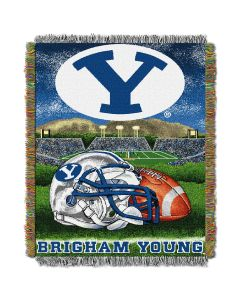 "The Northwest Company BYU College ""Home Field Advantage"" 48x60 Tapestry Throw"