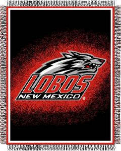 """The Northwest Company New Mexico """"Focus"""" 48""""x60"""" Triple Woven Jacquard Throw (College) - New Mexico """"Focus"""" 48""""x60"""" Triple Woven Jacquard Throw (College)"""