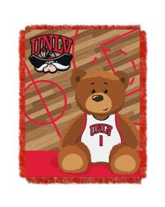 The Northwest Company UNLV  College Baby 36x46 Triple Woven Jacquard Throw - Fullback Series