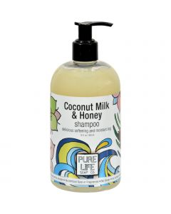 Pure Life Soap Shampoo - Coconut Milk and Honey - 15 fl oz