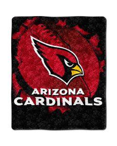 "The Northwest Company Cardinal 50""x60"" Sherpa Throw - Burst Series (NFL) - Cardinal 50""x60"" Sherpa Throw - Burst Series (NFL)"