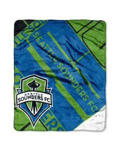 The Northwest Company Seattle Sounders MLS 50x60 Super Plush Throw