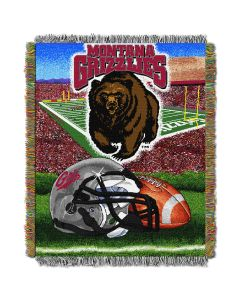 "The Northwest Company Montana College ""Home Field Advantage"" 48x60 Tapestry Throw"