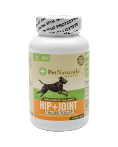 Pet Naturals of Vermont Hip + Joint Tablets For Dogs 90/Pkg- - Hip + Joint Tablets For Dogs 90/Pkg-