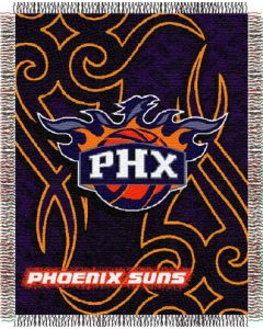 "The Northwest Company Suns 48""x60"" Triple Woven Jacquard Throw (NBA) - Suns 48""x60"" Triple Woven Jacquard Throw (NBA)"