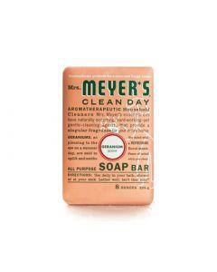 Mrs. Meyer's Bar Soap - Geranium - 8 oz