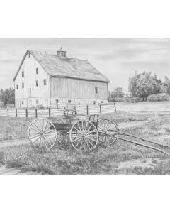 "Royal Brush Sketching Made Easy Kit 9""X12""-Country Wagon"