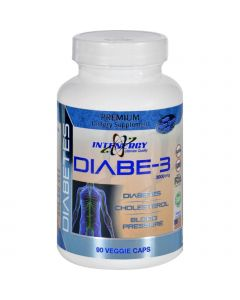 Intenergy Diabe-3 - with Alpha Lipoic Acid - 90 Vegetarian Capsules
