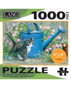 """LANG NEW! Jigsaw Puzzle 1000 Pieces 29""""X20""""-Gardener's Assistant"""