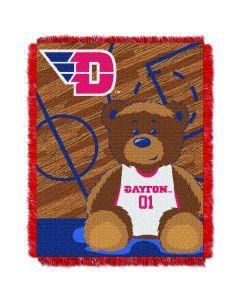 The Northwest Company Dayton College Baby 36x46 Triple Woven Jacquard Throw - Fullback Series