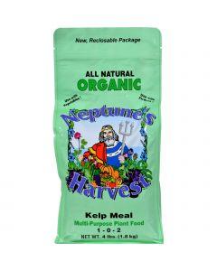 Neptune's Harvest Fertilizers Neptune's Harvest Kelp Meal Fertilizer - Green Label - 4 Lb
