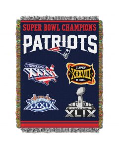 """The Northwest Company Patroits  """"Commemorative"""" 48x60 Tapestry Throw"""