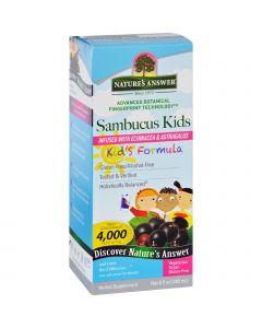 Nature's Answer Natures Answer Sambucus - Kids Formula - Original Flavor - 8 oz