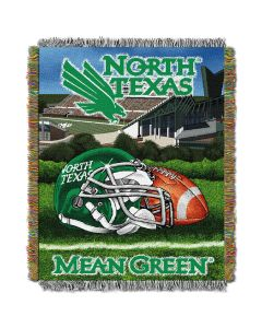 """The Northwest Company North Texas  College """"Home Field Advantage"""" 48x60 Tapestry Throw"""