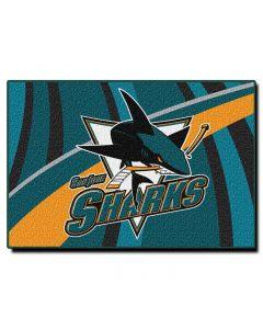 "The Northwest Company Sharks 39""x59"" Tufted Rug (NHL) - Sharks 39""x59"" Tufted Rug (NHL)"