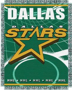 "The Northwest Company Stars 48""x 60"" Triple Woven Jacquard Throw (NHL) - Stars 48""x 60"" Triple Woven Jacquard Throw (NHL)"