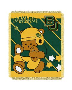 The Northwest Company Baylor  College Baby 36x46 Triple Woven Jacquard Throw - Fullback Series
