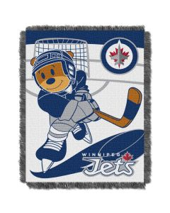 The Northwest Company Jets  Baby 36x46 Triple Woven Jacquard Throw - Score Series