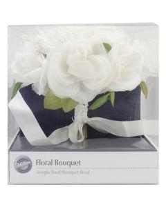 "Wilton Floral Bouquet 8.5"" Diameter-French Rose"