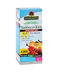 Nature's Answer Natures Answer Sambucus - Kids Formula - Natural Cherry Flavor - 8 oz