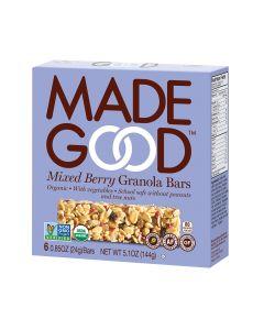 Made Good Granola Bar - Mixed Berry - Case of 6 - 5 oz.