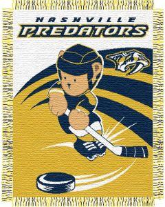 "The Northwest Company Predators 044 baby 36""x 46"" Triple Woven Jacquard Throw (NHL) - Predators 044 baby 36""x 46"" Triple Woven Jacquard Throw (NHL)"