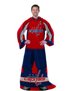 "The Northwest Company Capitals  ""Uniform"" Adult Fleece Comfy Throw"