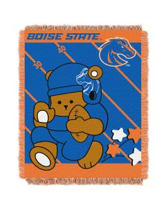 The Northwest Company Boise State College Baby 36x46 Triple Woven Jacquard Throw - Fullback Series