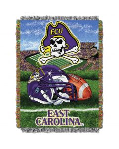 """The Northwest Company East Carolina College """"Home Field Advantage"""" 48x60 Tapestry Throw"""