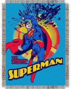 "The Northwest Company Superman Smash 48""x60"" Tapestry Throw"